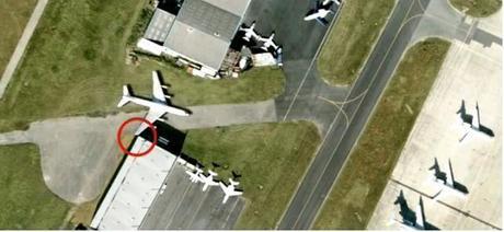 La vidéo de la collision de l'A 380 du Bourget. Enfin presque…