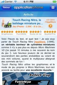 L'appli iPhone de la semaine #1 : iFon.fr et application!Phone