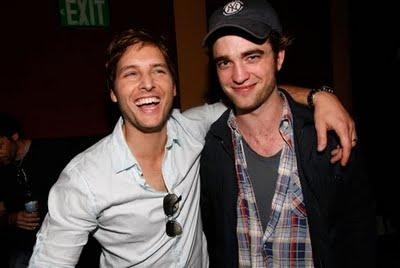 Peter Facinelli et Robert Pattinson