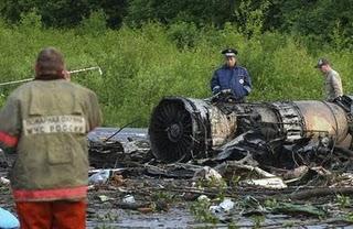 Crash aérien en Russie: au moins 44 morts, 8 blessés