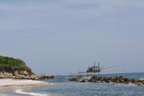 Sur la côte des Trabocchi