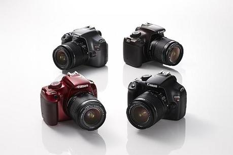 Le Canon EOS 1100D en couleur