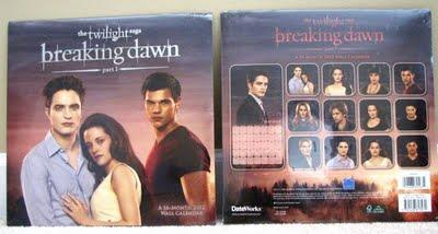 Calendrier officiel Breaking Dawn Révélation