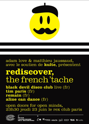 BLACK DEVIL DISCO CLUB LIVE @ REDISCOVER - REX CLUB