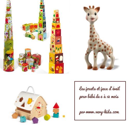 Quel jouet et jeu d'éveil offrir à un bébé de 6 mois à 12 mois ? - Paperblog