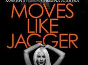Maroon Christina Aguilera Move Like Jagger.