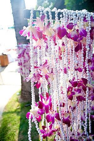 Decoration de mariage theme orchid e paperblog - Decoration de mariage exterieur ...