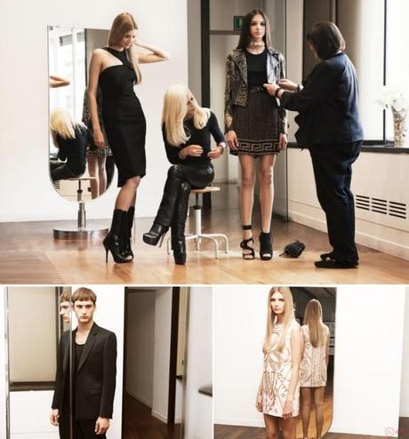 Nouveau partenariat avec H&M; : VERSACE FOR H&M; (17/11/11)
