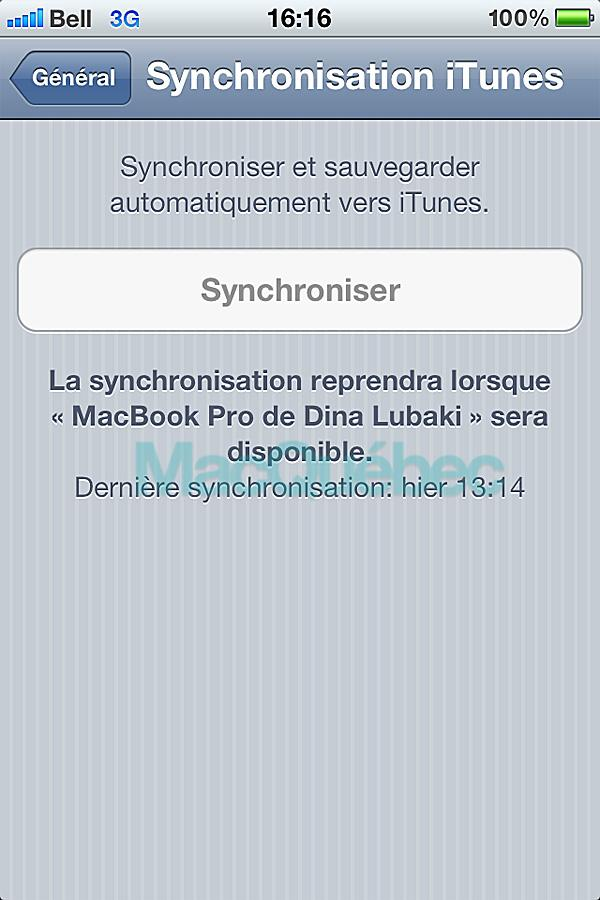 iOS 5 Beta 2; Les changements