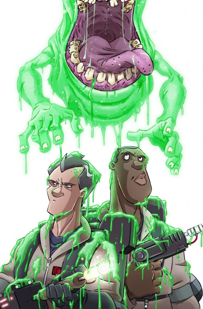 Ghostbusters #2 la couverture de Dan Shoeding