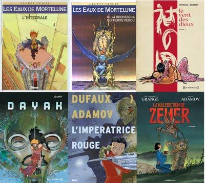 Auteur BD : Happy BéDay Philippe Adamov !