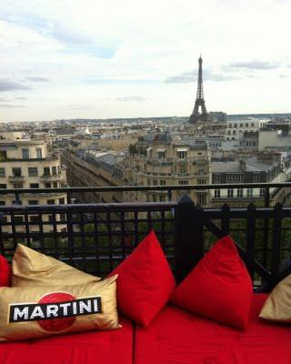 La Terrazza Martini à Paris...
