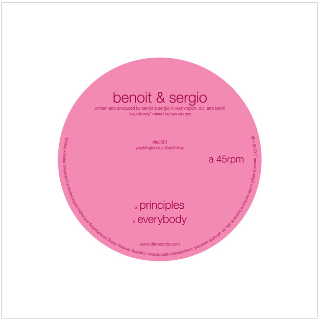 Benoit Sergio Principles Everybody Benoit & Sergio   Principles / Everybody
