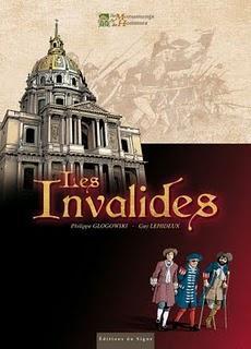 Album BD : Les Invalides de Guy Lehideux et Philippe Glogowski