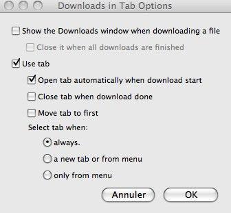 Download in Tab télécharge vos fichiers dans un onglet
