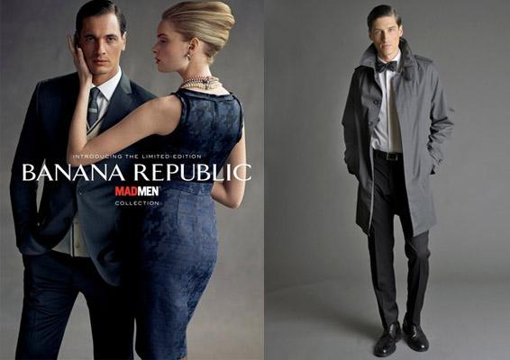 Banana republic mad men La superbe collection Mad Men pour Banana Republic