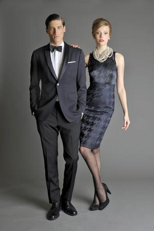 Men Look10 Grey Background La superbe collection Mad Men pour Banana Republic