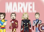 sélection ciné MARVEL, super-héros reviennent force.