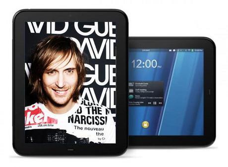 david hp David Guetta pour la promo de la HP TouchPad !