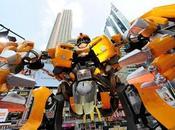 Transformers l'avant-première