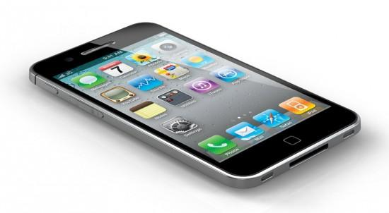 Image apple iphone 5 concept 1 550x302   iPhone 5 Concept