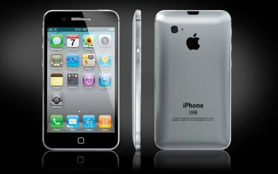 Image apple iphone 5 concept 2 550x344   iPhone 5 Concept