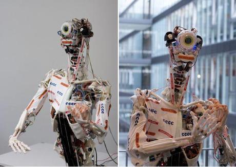 Eccerobot, l'humanoïde écorché au service de la science