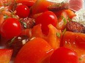 Salade tomates chorizo