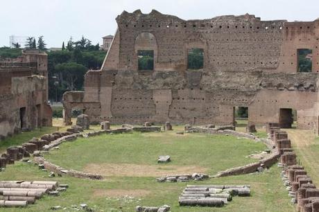 Un ancien stade sur le mont Palatin