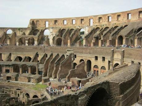 Le squelette du Colisée
