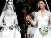 Charlène pourra s'inspirer robe Grace Kelly, Kate Middleton déjà fait