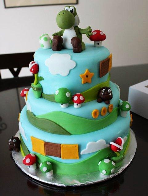"""Résultat de recherche d'images pour """"cake yoshi"""""""