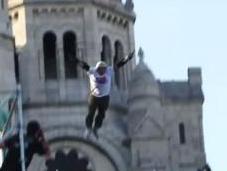 Taig Khris saut roller plus long monde Sacré Coeur