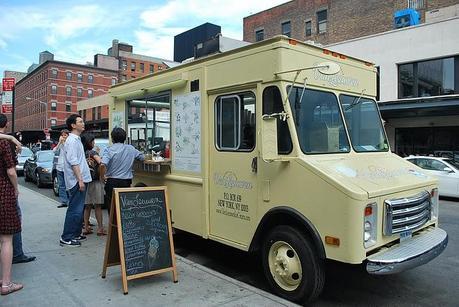 Ice Cream Truck à New-York Center.
