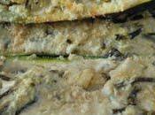 Courgettes farcies DUKAN calamars,salicorne,son d'avoine tofu soyeux