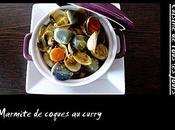 Marmite coques curry Madras