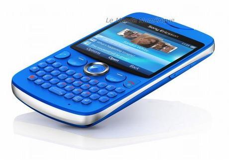Sony Ericsson lance le smartphone txt, pour les fondus des textos SMS