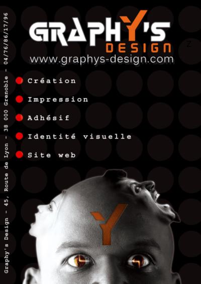 Catalogue de Graphy's Design - créé sur Madmagz.com
