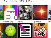 Microsoft lâche nouvelles applications pour Zune