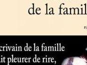 L'écrivain famille Grégoire Delacourt