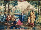 Poussin Moïse, dessin tapisserie