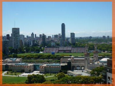 Buenos Aires, vue de son habitation ©Virginie