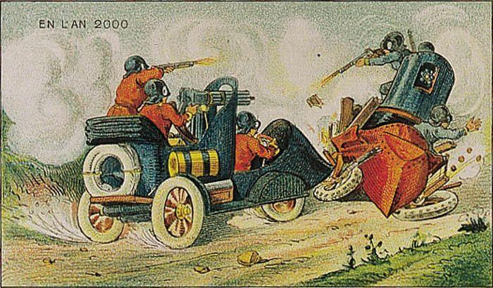 2000 AS SEEN IN 1910 BY VILLEMARD #2