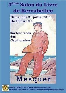 3ème salon du livre de Kercabellec (Loire-atlantique).