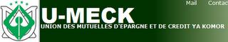 Union Meck microfinance comores plage