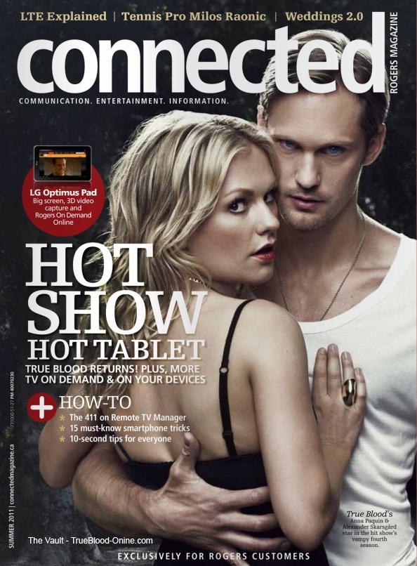 True Blood dans le magazine Connected