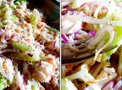 Salade vietnamienne crabe soja