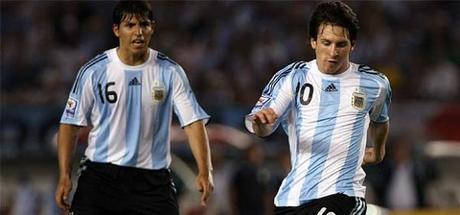 Messi Aguero Copa America