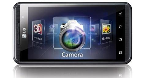 LG Optimus 3D, Camera, premier smartphone 3D
