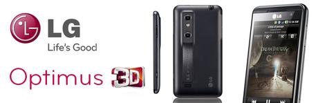 LG Optimus 3D, premier smartphone 3D